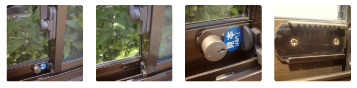 窓用補助錠例